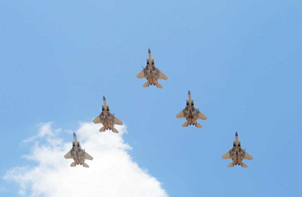 טייסות קרב מטס חיל האוויר ביום העצמאות