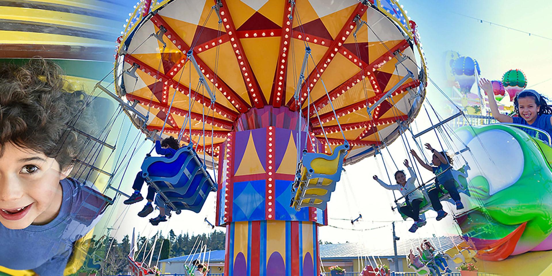 פארק קיפצובה - אטרקציות לילדים ומשפחות