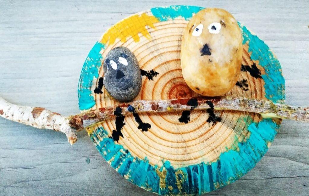 סדנאות יצירה לילדים עץ יצירה וסיפור
