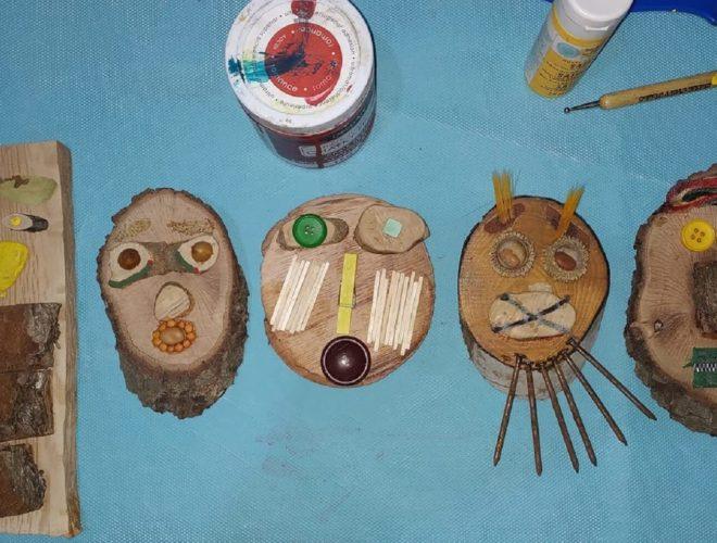 עץ יצירה וסיפור באנר סדנאות לילדים